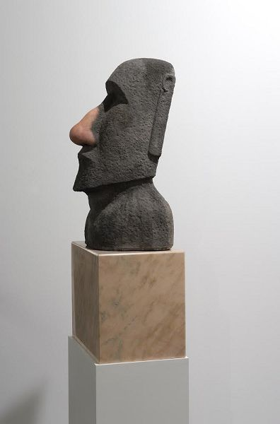 God knows (Moai), 2014 (Private collection)